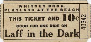 Playland Ticket
