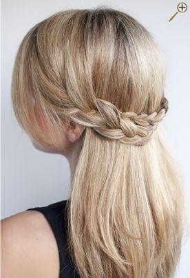Косы для русых волос