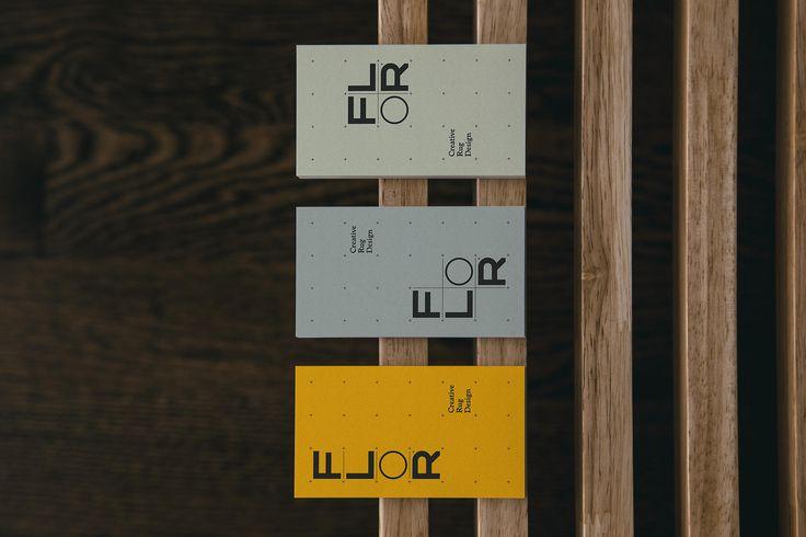 FLOR Business Cards Flexible Branding