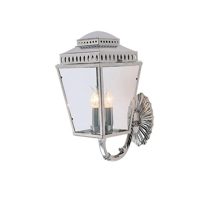 Elstead Mansion House Wall Lantern Polished Nickel