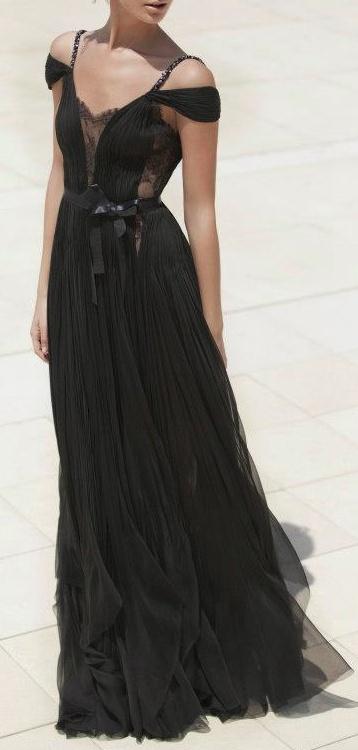 evening gown / miraz willinger