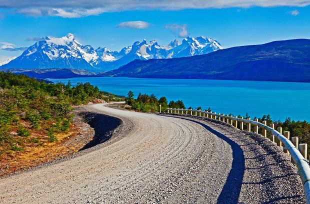 Torres del Paine National Park, Patagonia, Chile.  From 10 Stunning Travel Destinations.