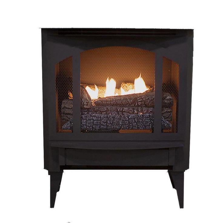 Buck stove 1000sq ft dualburner ventfree freestanding