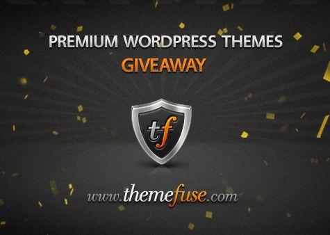 Giveaway #102 Three Premium WordPress Themes from ThemeFuse