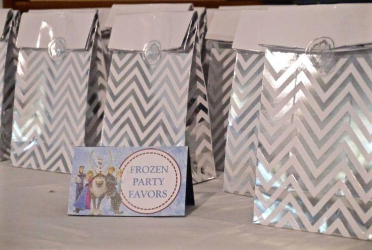 Frozen favour bags