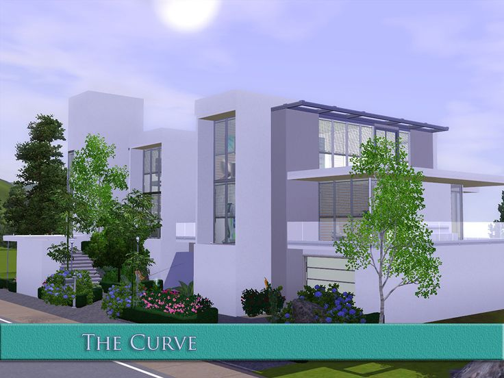 Urban Modern House for Sims 3 PC game.  Must Have Gorgeous Sims 3 Houses and Villas | Sims3fixes