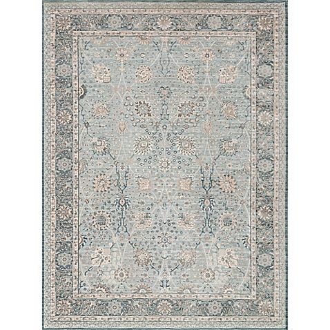 Magnolia Home By Joanna Gaines Ella Rose Rug In Light Blue