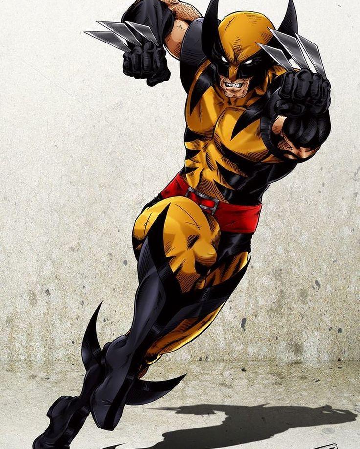 Wolverine!! Art by Castortroy on @deviantart  #Wolverine #Logan #XMen #Marvel #MarvelComics #Comics #ConceptArt #Art #Artist #Superhero