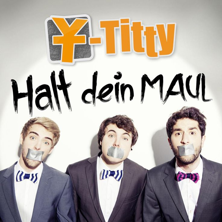 single cover art: y-titty - halt dein maul [08/2013]