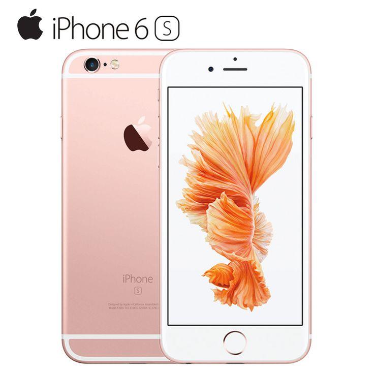 Original Desbloqueado Apple Iphone 6 S Smartphone 4 7 Ios Ios 9 De Doble Núcleo A9 9 16 64 128 Gb Rom 2 Gb Ram 12 Iphone Apple Iphone 6s Apple Iphone 6s Plus