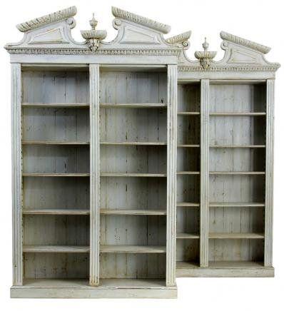 English Regency bookshelves