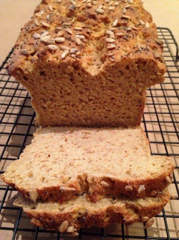 Pão integral de Painço (Millet) e Aveia sem glúten