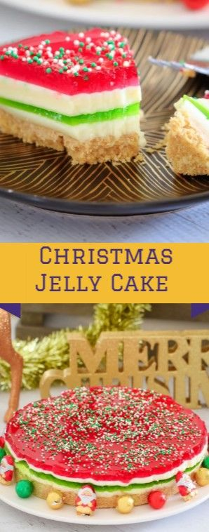 Christmas Jelly Cake #christmas #dessert  This really is the Good Yuletide Treat…
