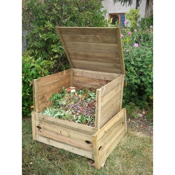 17 best ideas about composteur en bois on pinterest. Black Bedroom Furniture Sets. Home Design Ideas