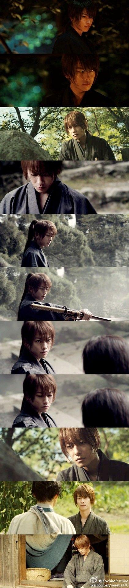 Takeru Satoh caption scenes in Rurouken
