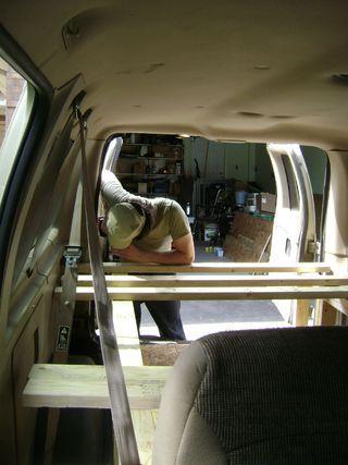how to build caravan furniture