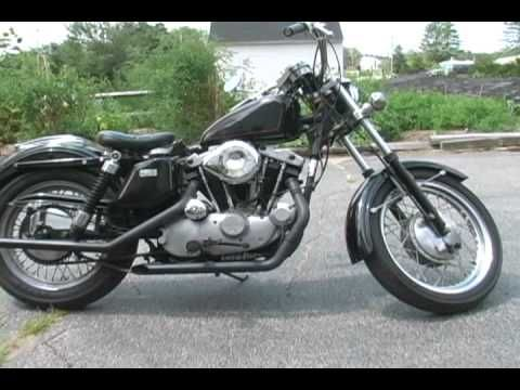 1971 Harley Sportster Ironhead www.gothardt.com
