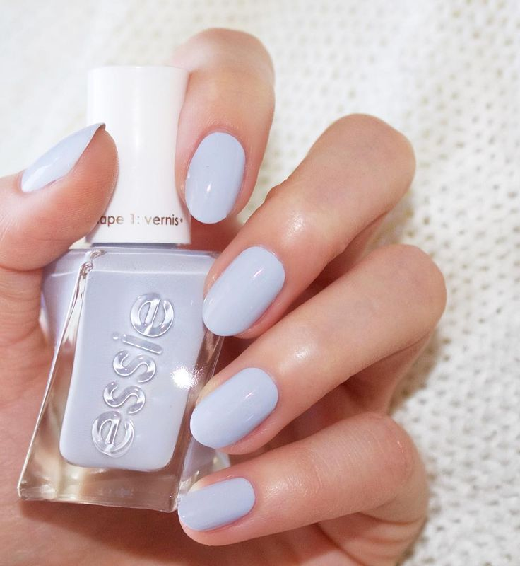 Hold your head up high when the curtain opens on this periwinkle powder blue nail polish. Introducing new essie gel couture ballet nudes. An easy 2-step system that offers up to 14 days of luxurious wear on your mani. Shop 'perfect posture': http://www.essie.com/gel-couture/colors/Neutrals/perfect-posture.aspx