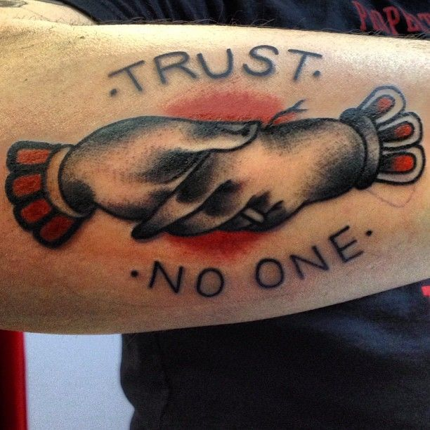 Trust No One Quotes Tattoo: 44 Best Trust No One Quotes Images On Pinterest