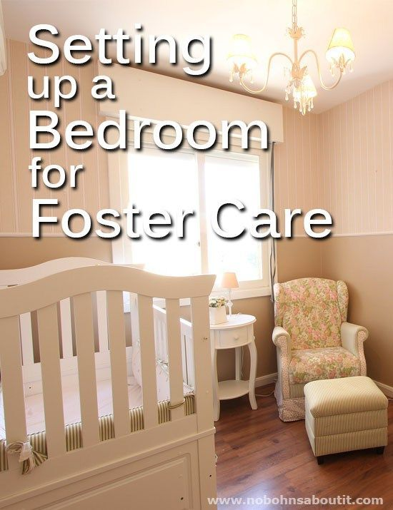 Setting up a Bedroom for Foster Care - No Bohns About it #foster