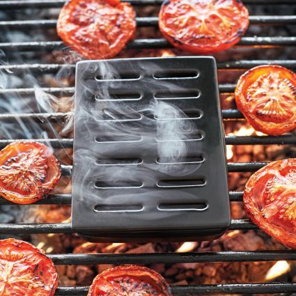 Sur La Table Pro Ceramic Smoker Box with Smoking Pouches, available at #surlatable