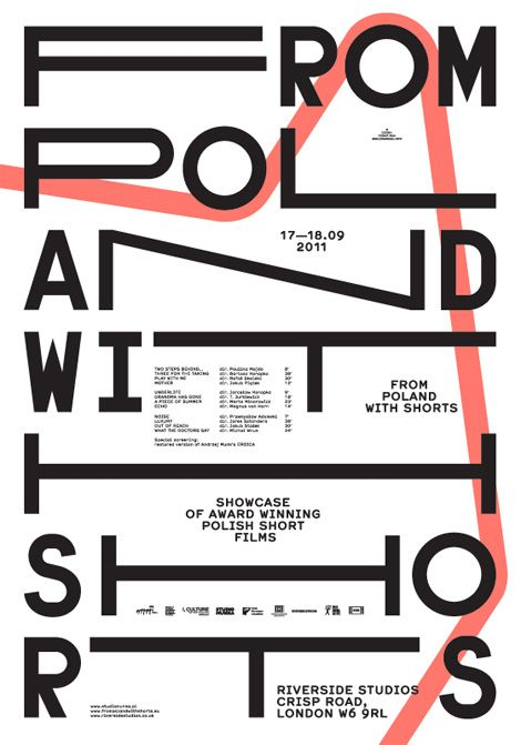 poster design | Edgar Bak - From Poland with Shorts