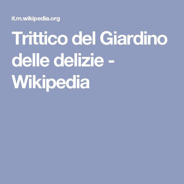 Trittico del Giardino delle delizie - Wikipedia