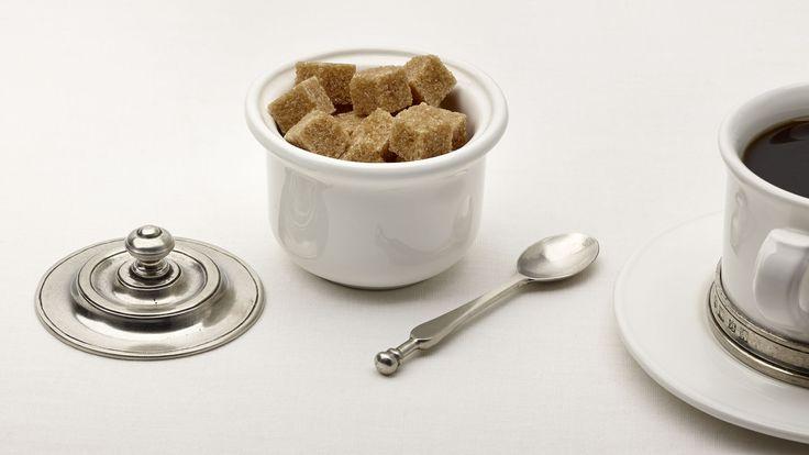 Zuccheriera (Peltro, Ceramica)