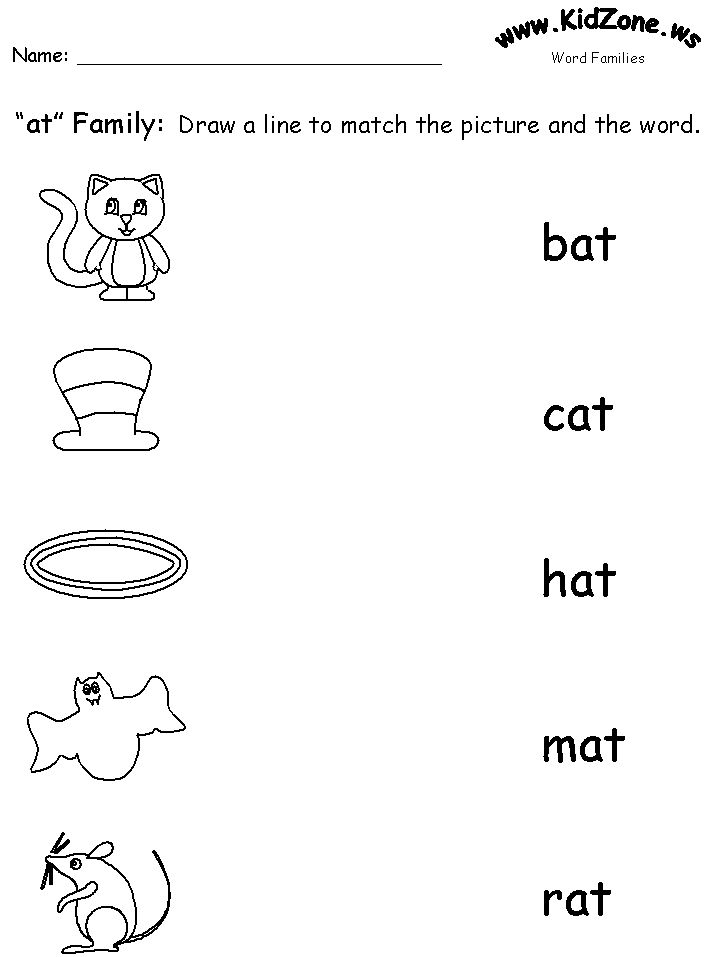 Worksheets Phonics Worksheets For Preschool 25 best ideas about phonics worksheets on pinterest free word family worksheet good familiesreading preschool phonics