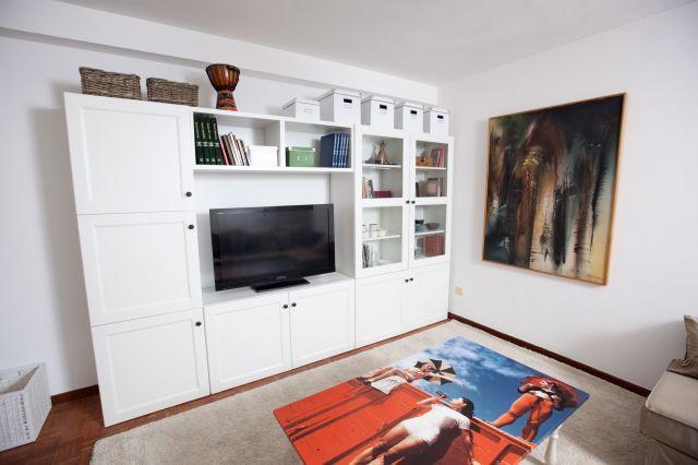 Mueble salón blanco