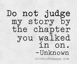 Also, don't judge a book by its cover. Severe chronic intractable pain.