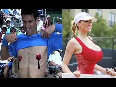 Novak Djokovic Funny Moments. Watch this hilarious Djokovic video. - YouTube