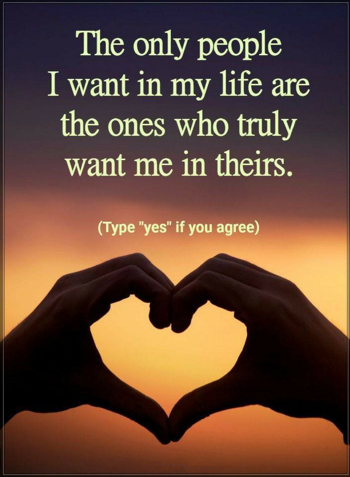 People Quotes The only people I want in my life are the ...