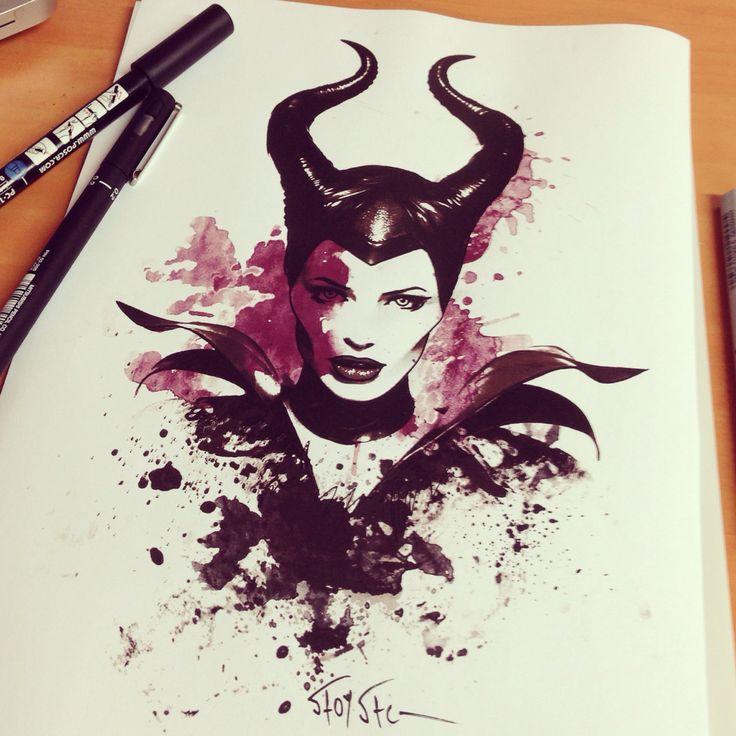 Maleficent ..Angelina Jolie