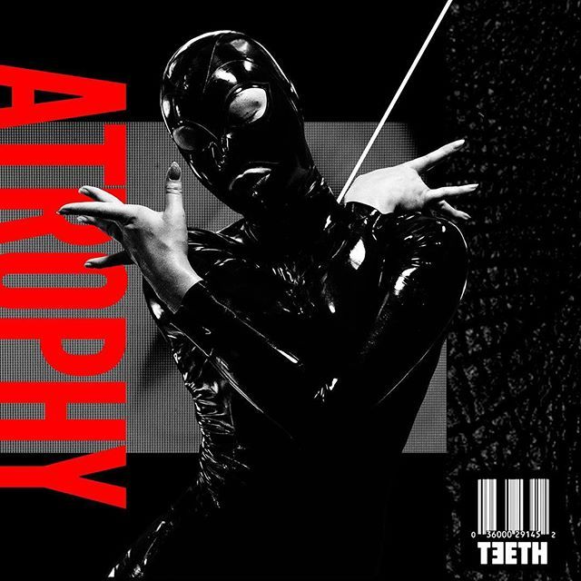I can finally reveal that I'm on the cover of the new single #Atrophy from @3teeth. That fire drops a week from today. Get hyped. 🔥 #luzia #industrial #rivethead #3TEETH #omf #operationmindfuck #anarchomancer #latex #rubber #catsuit #fetish #rubberdoll
