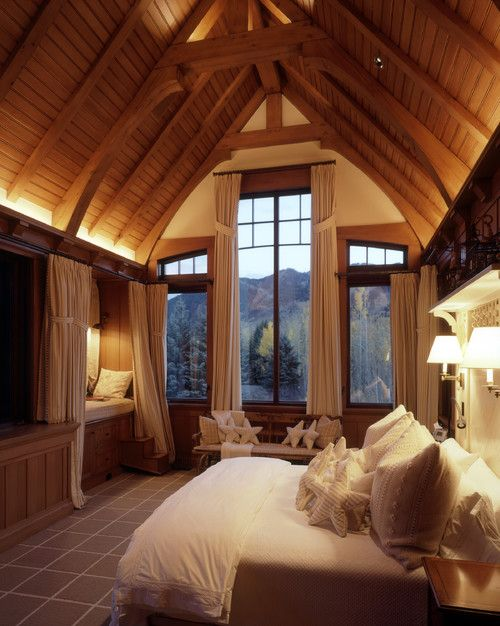 Sage Brush residence, CO. Poss Architecture + Planning + Interior Design.....boathouse guest sleeping space
