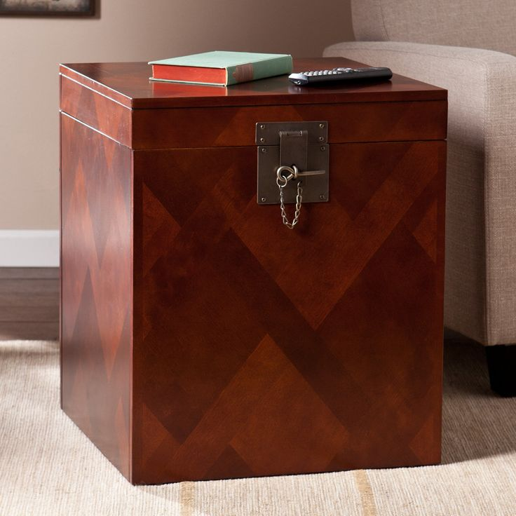 Trento Trunk End Table