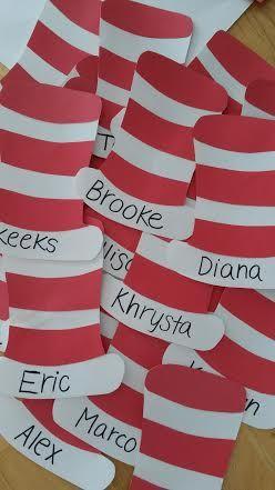Dr Seuss door tags