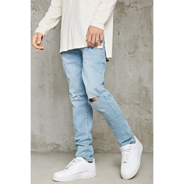Best 20  Mens destroyed jeans ideas on Pinterest | Boyfriend jeans ...