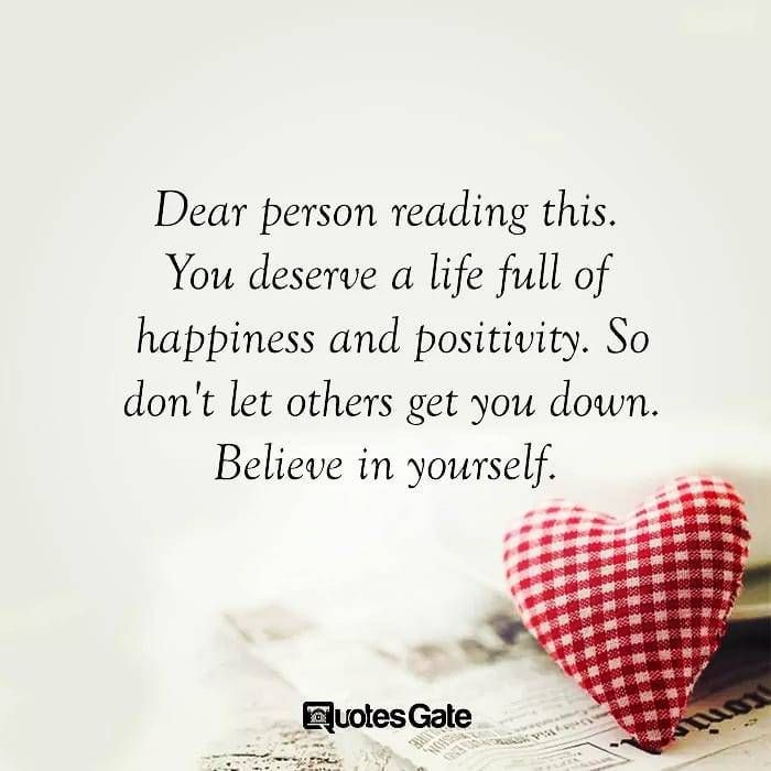 You Deserve Happiness And Positivity Life Inspiration Motivational Quotes Thedailylife Hug Quotes Emotional Quotes Inspirational Quotes