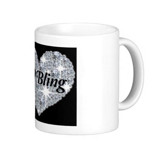 I Love #Bling Classic White #Mug