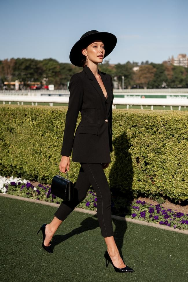 The Best Street Style From The Championships Day 1 2019 In 2020 Spring Racing Fashion Dresses For The Races Race Day Outfits