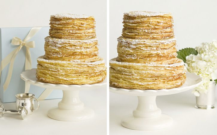 Sparkle & Hay Wedding Blog: Inspirations for a Rustic Chic Wedding: Wedding Cake Alternative: The Crepe Wedding Cake from Charleston Crepe Company