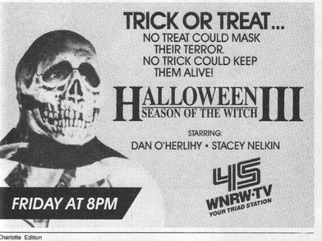 halloween night tv guide