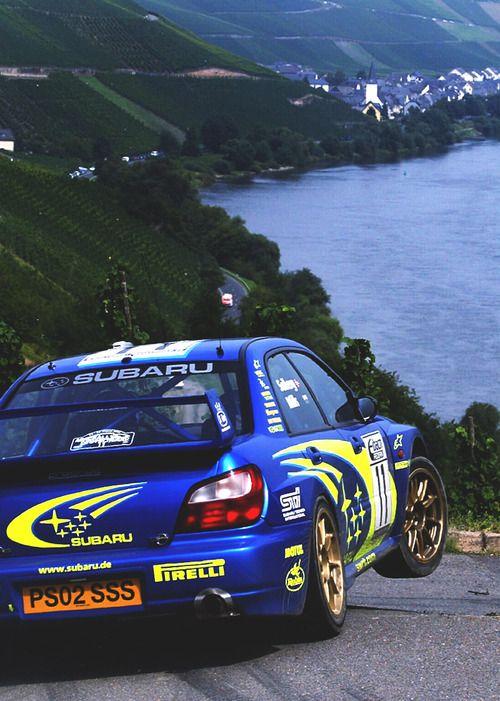 Petter Solberg - Phil Mills, Subaru WRC, Rallye Deutschland - Mosel - Trier - Weinberge