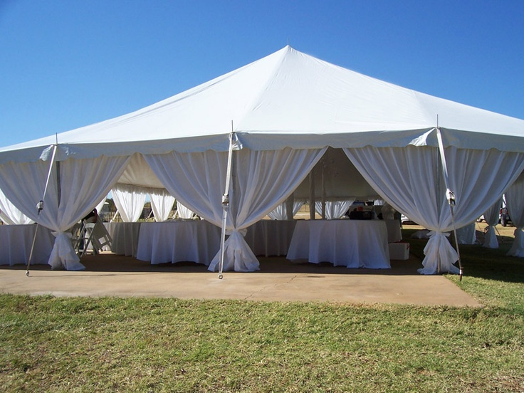 Making Leg Drapes For Tents