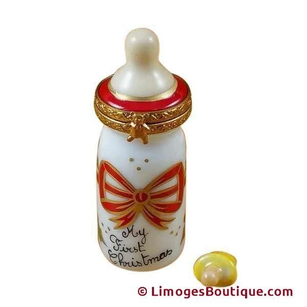 BABY BOT-TLE - MY FIRST CHRISTMAS - Merry LIMOGES BOX