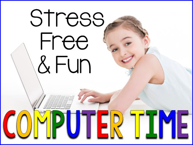 I am guest blogging with Hadar at all about my NEW Kindergarten ELA Computer Center Sheets. Here is my own daughter S using computer center sheets TODAY as I am setting…