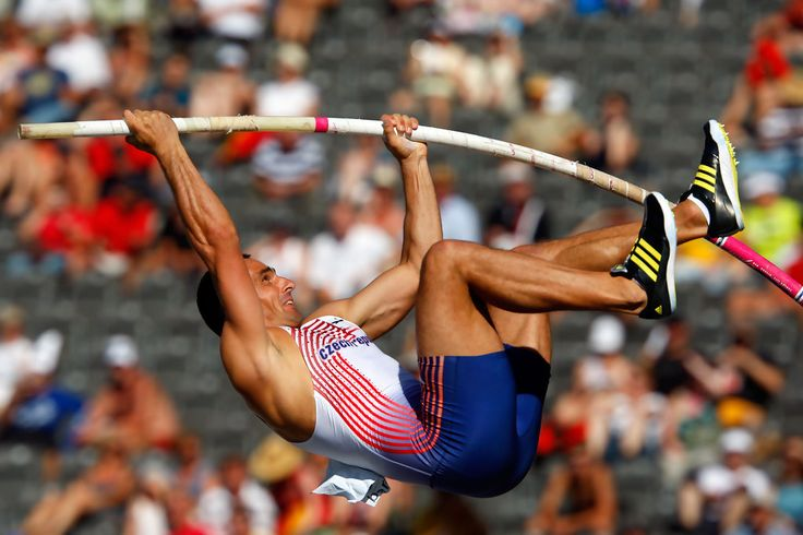 Roman Sebrle of Czech Republic competes in the men's Pole Vault Decathlon during day six of the 12th IAAF World Athletics Championships at the Olympic Stadium on August 20, 2009 in Berlin, Germany.