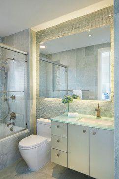 Miami Project Small Contemporary Bathroom